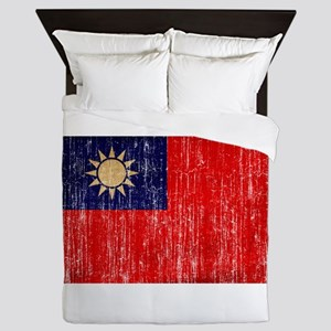 Taiwan Flag Queen Duvet