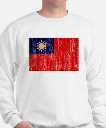 Taiwan Flag Sweatshirt