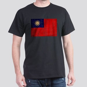 Taiwan Flag Dark T-Shirt
