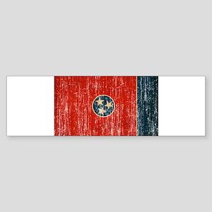 Tennessee Flag Sticker (Bumper)