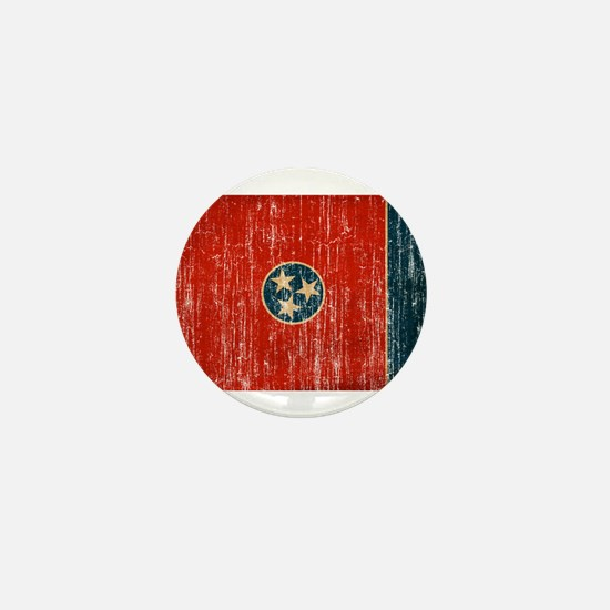 Tennessee Flag Mini Button