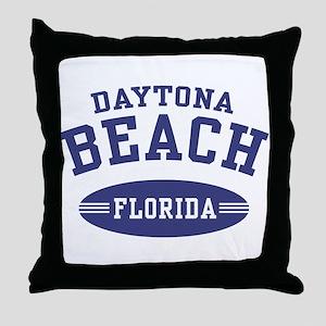 Daytona Beach Florida Throw Pillow