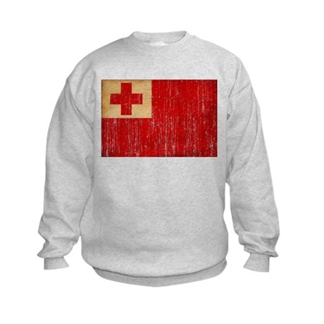 Tonga Flag Kids Sweatshirt