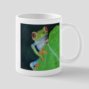 Peekaboo Tree Frog Mug