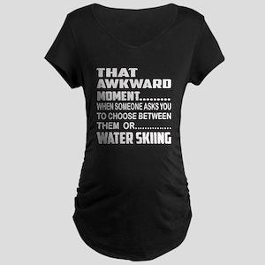 That Awkward Moment... Wate Maternity Dark T-Shirt