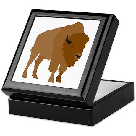 Buffalo Keepsake Box