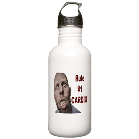 Zombie Cardio Stainless Water Bottle 1.0L