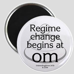 regime change Magnet