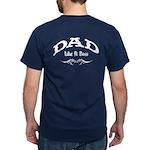 Dad Like A Boss BACK Dark T-Shirt