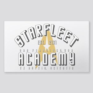 Starfleet Academy Star Trek Or Sticker (Rectangle)