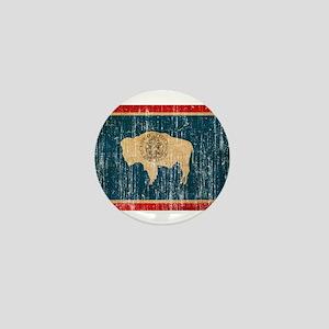 Wyoming Flag Mini Button