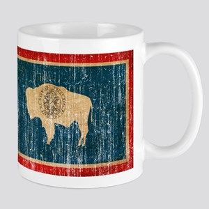 Wyoming Flag Mug