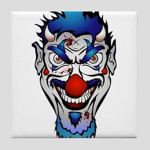 Killer Clown Tile Coaster