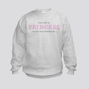 Princess Kids Sweatshirt