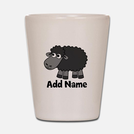 Add Name - Farm Animals Shot Glass