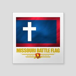Missouri Battle Flag (flag 10) Square Sticker