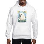 Moluccan Cockatoo Hooded Sweatshirt