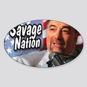 Savage Sticker (Oval)