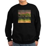 The Woods I Pink Sweatshirt (dark)