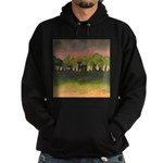 The Woods I Pink Hoodie (dark)