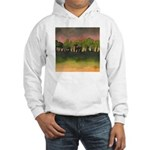 The Woods I Pink Hooded Sweatshirt
