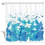 Aqua! Shower Curtain