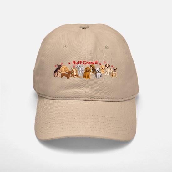 Ruff Crowd Baseball Baseball Cap