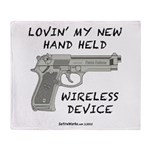 Wireless Device Throw Blanket