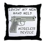 Wireless Device Throw Pillow