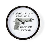 Wireless Device Wall Clock