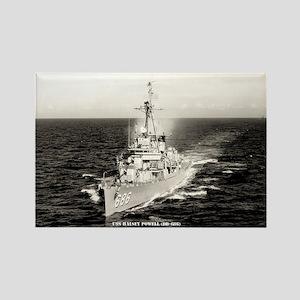 USS HALSEY POWELL Rectangle Magnet