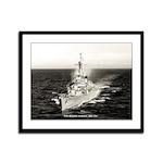 USS HALSEY POWELL Framed Panel Print