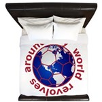 Football Soccer King Duvet