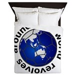 Football Soccer Queen Duvet
