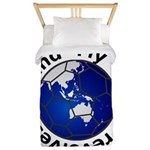 Football Soccer Twin Duvet