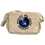 Football Soccer Messenger Bag