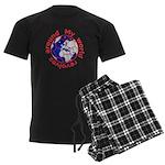 Football Soccer Men's Dark Pajamas