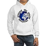Football Soccer Hooded Sweatshirt