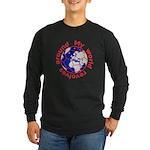 Football Soccer Long Sleeve Dark T-Shirt