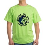 Football Soccer Green T-Shirt