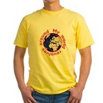Football Soccer Yellow T-Shirt