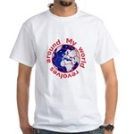 Football Soccer White T-Shirt