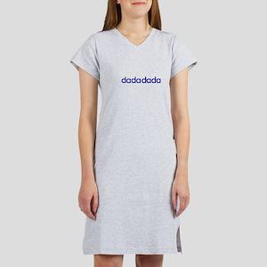 dada dada (navy) Women's Nightshirt