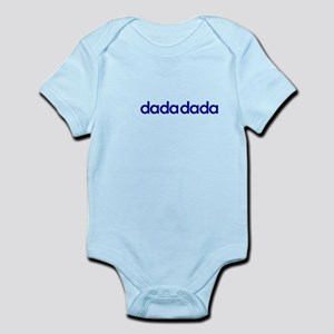 dada dada (navy) Infant Bodysuit