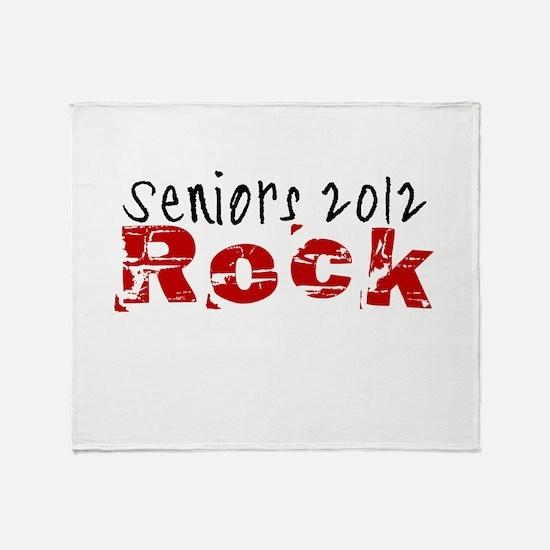 Seniors 2012 Rock Throw Blanket