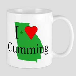 I Love Cumming Mug