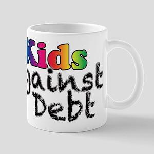 Kids Against Debt Rainbow Mug