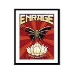 Enrage Nothing Stays Buried Art Framed Panel Print