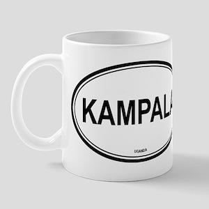 Kampala, Uganda euro Mug