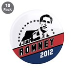 "Romney 2012 3.5"" Button (10 pack)"